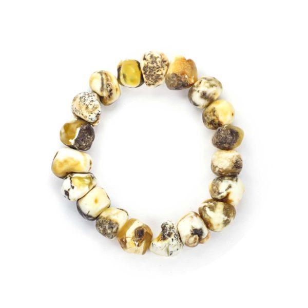 amber-bracelet-fiore-minimal-polish-top-view