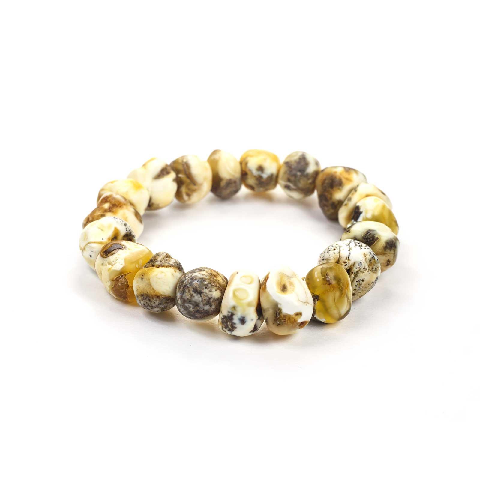 "Baltic Amber Bracelet ""Fiore"""
