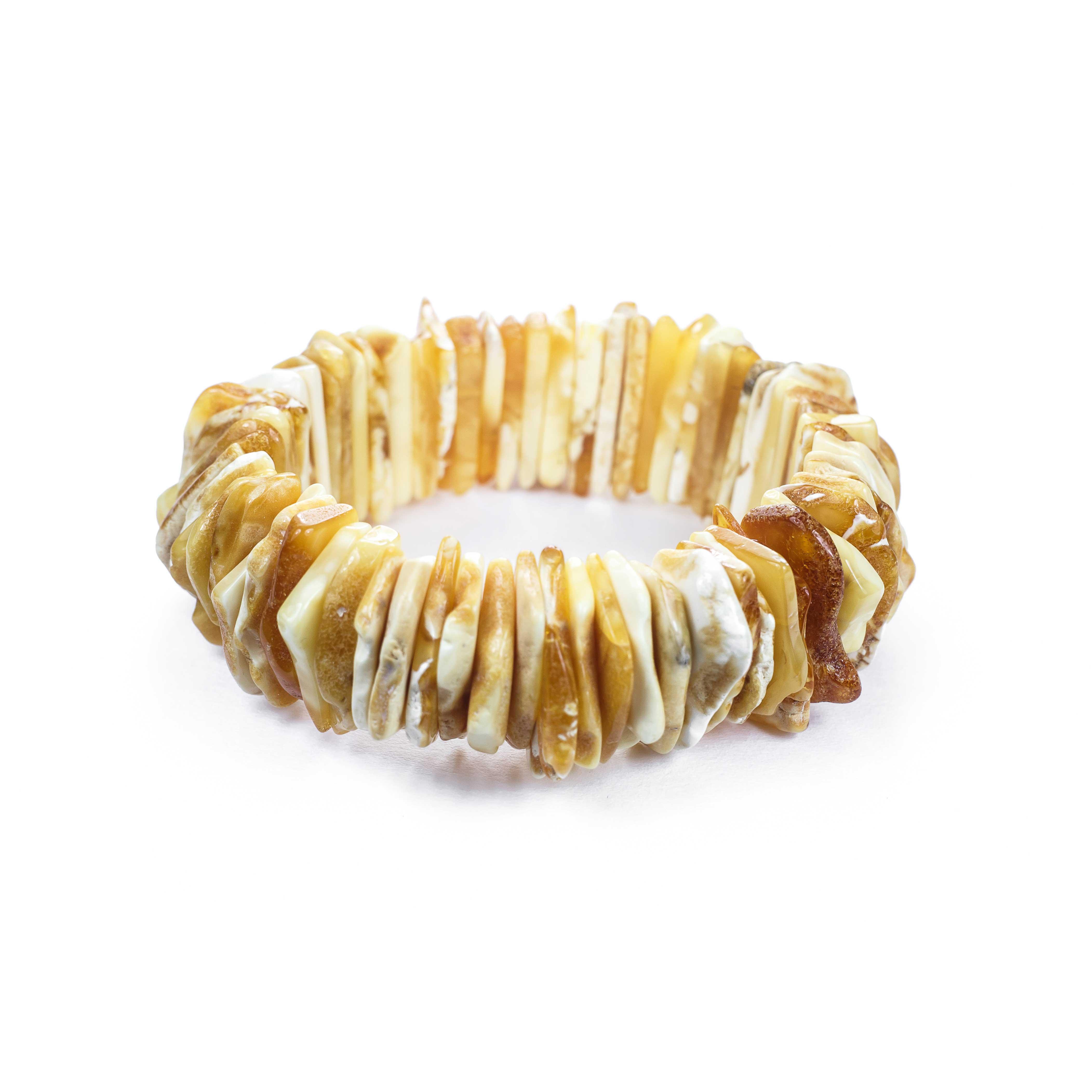 "Baltic Amber Bracelet ""Allure"" Bright"