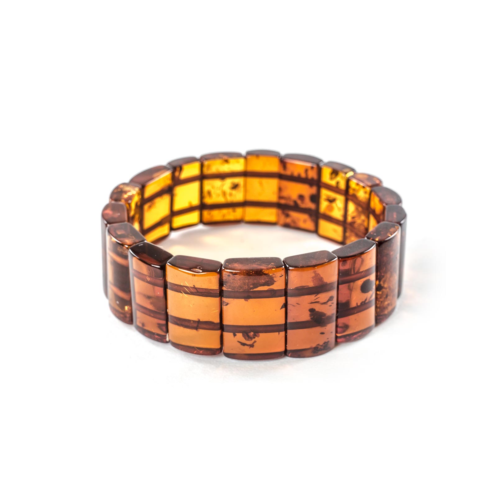 "Natural Baltic Amber Bracelet ""Alliance"""