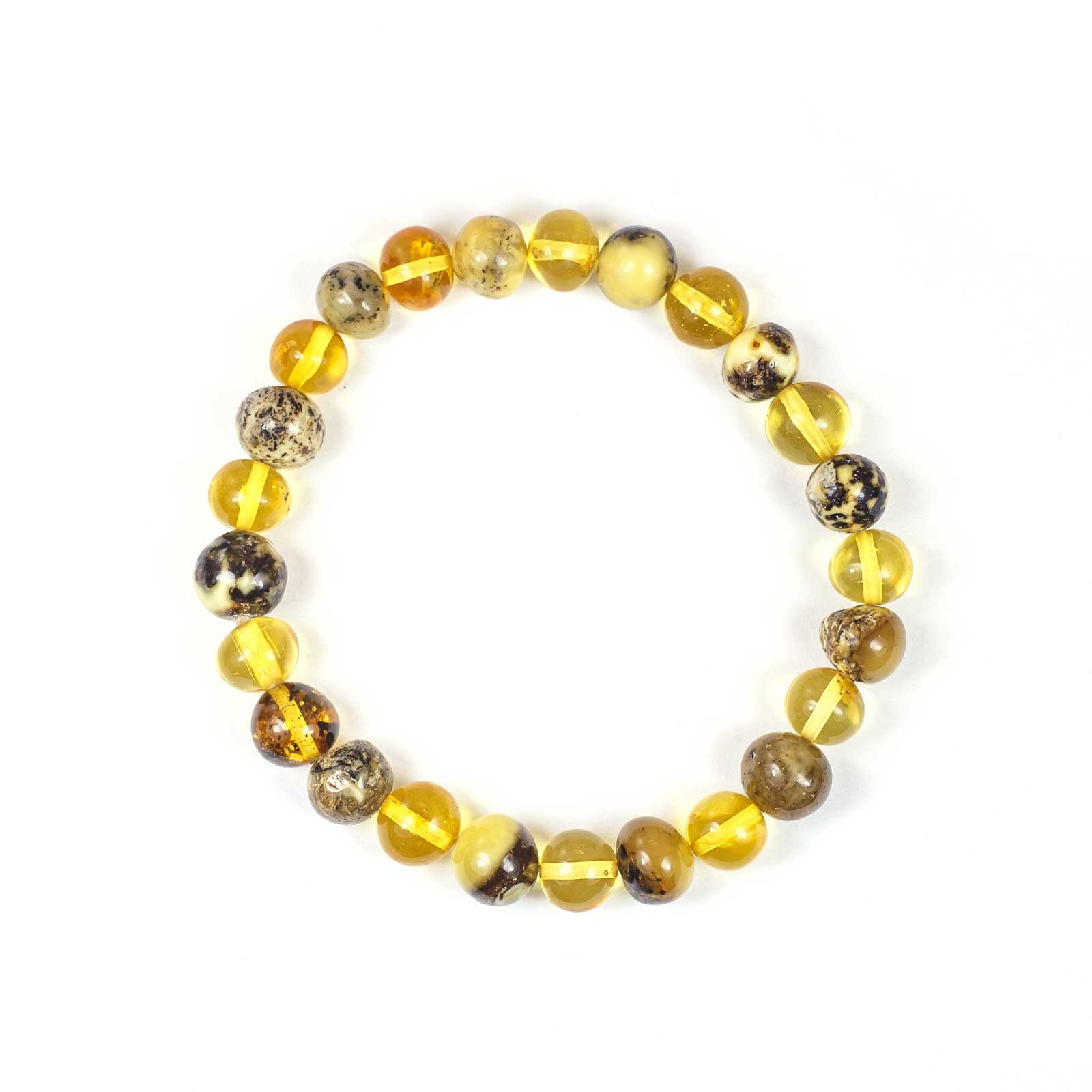 """Natural Baltic Amber Bracelet """"Belle II"""""""