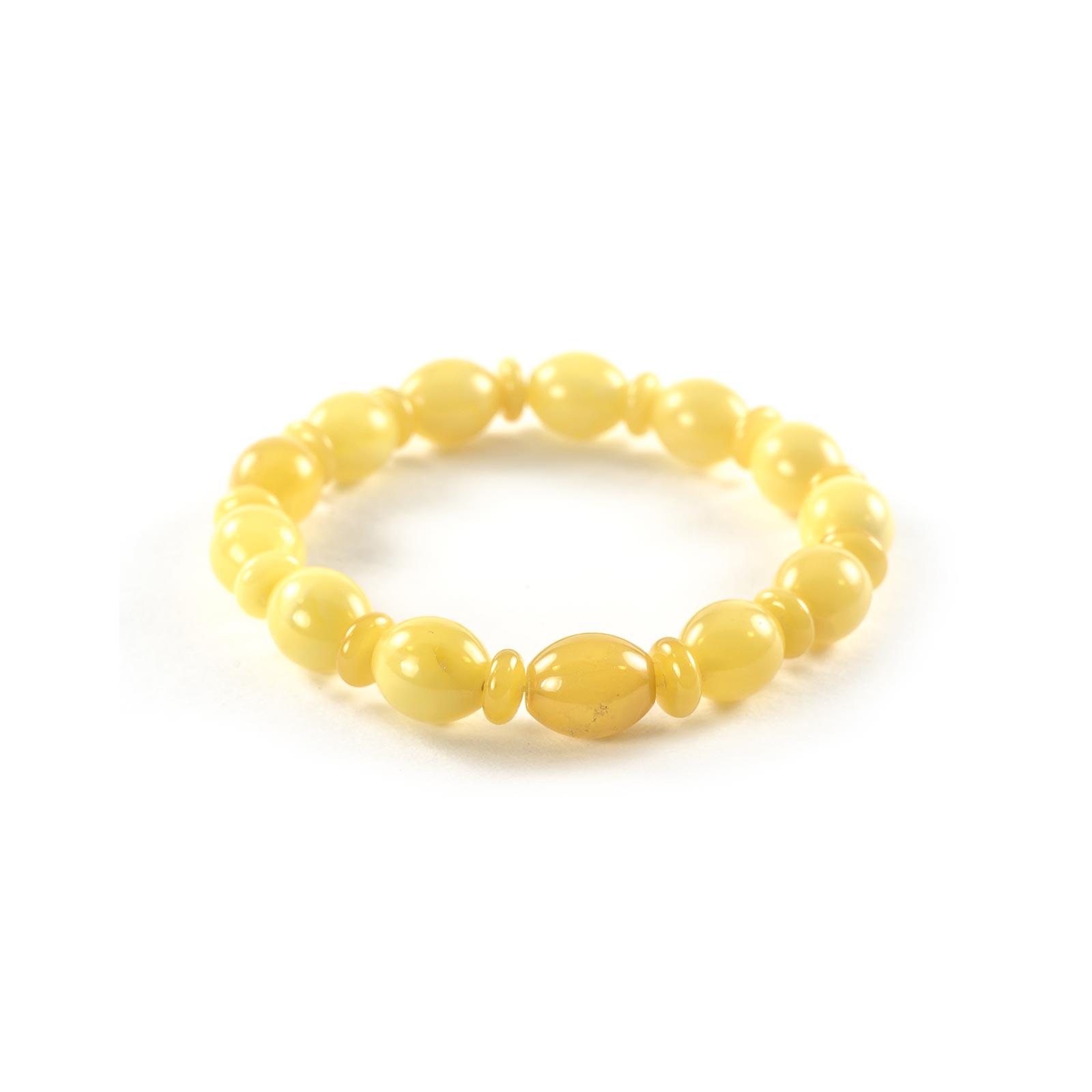 "Natural Baltic Amber Bracelet ""Siesta"""