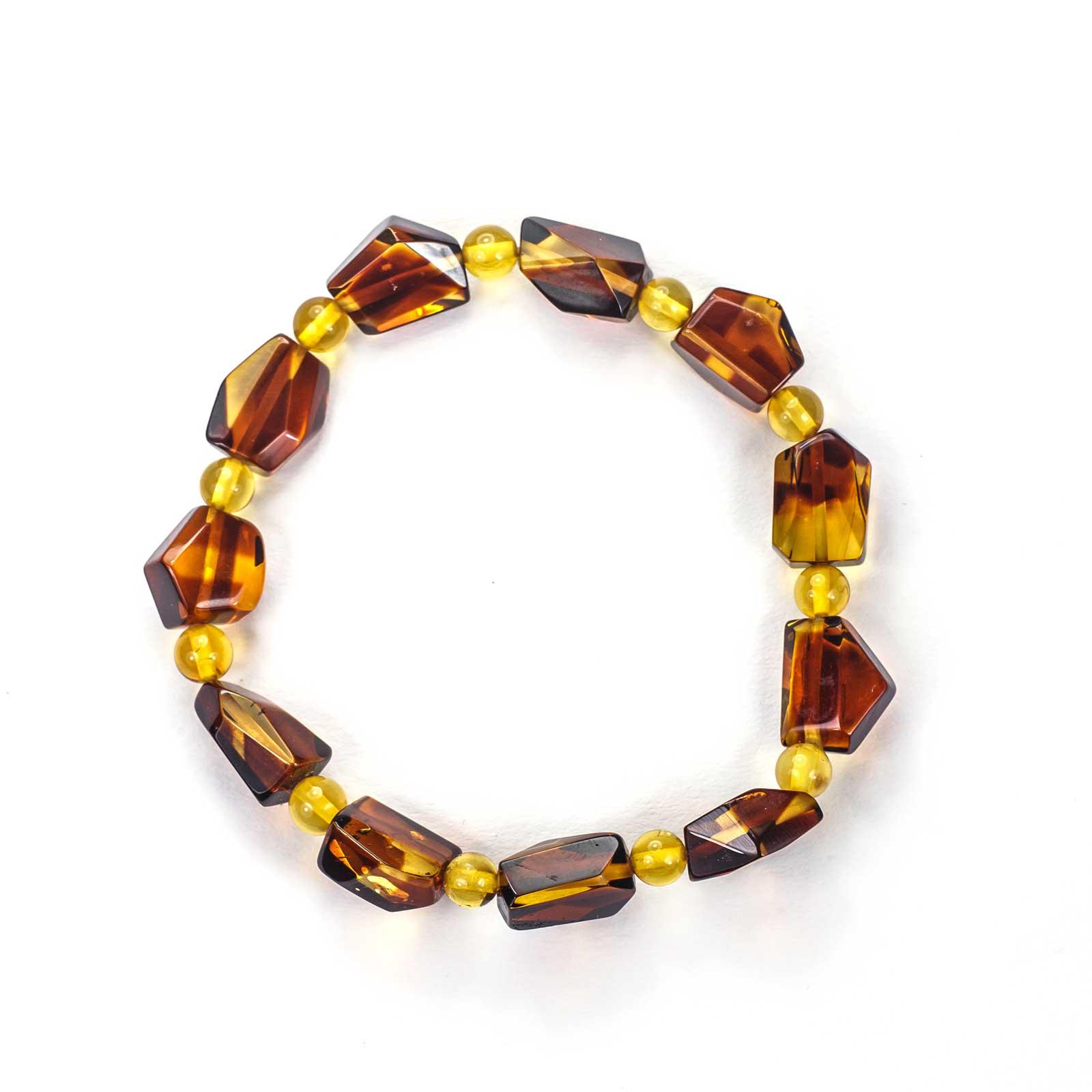 "Natural Baltic Amber Bracelet ""Lotta"""