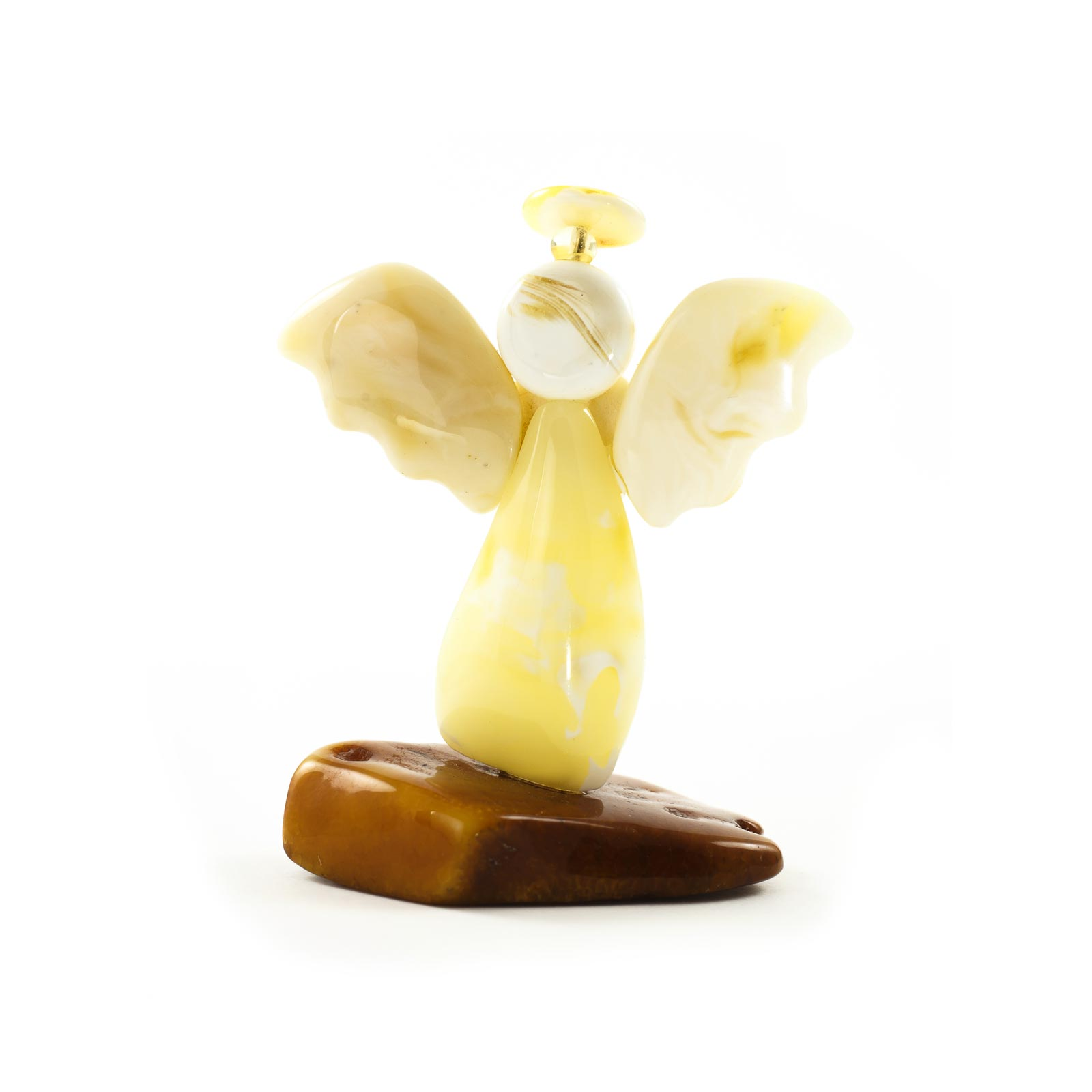 "Natural Baltic Amber Figurine ""Angel"""