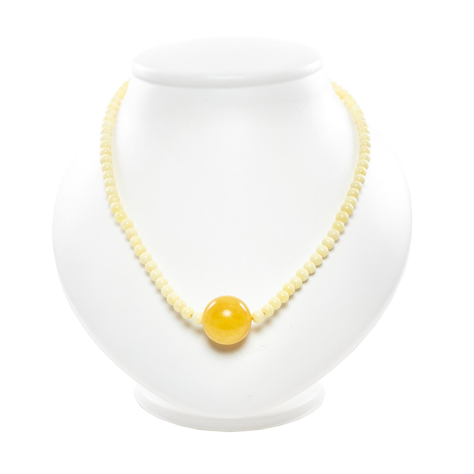 "Natural Baltic Amber Necklace ""Aelita"""