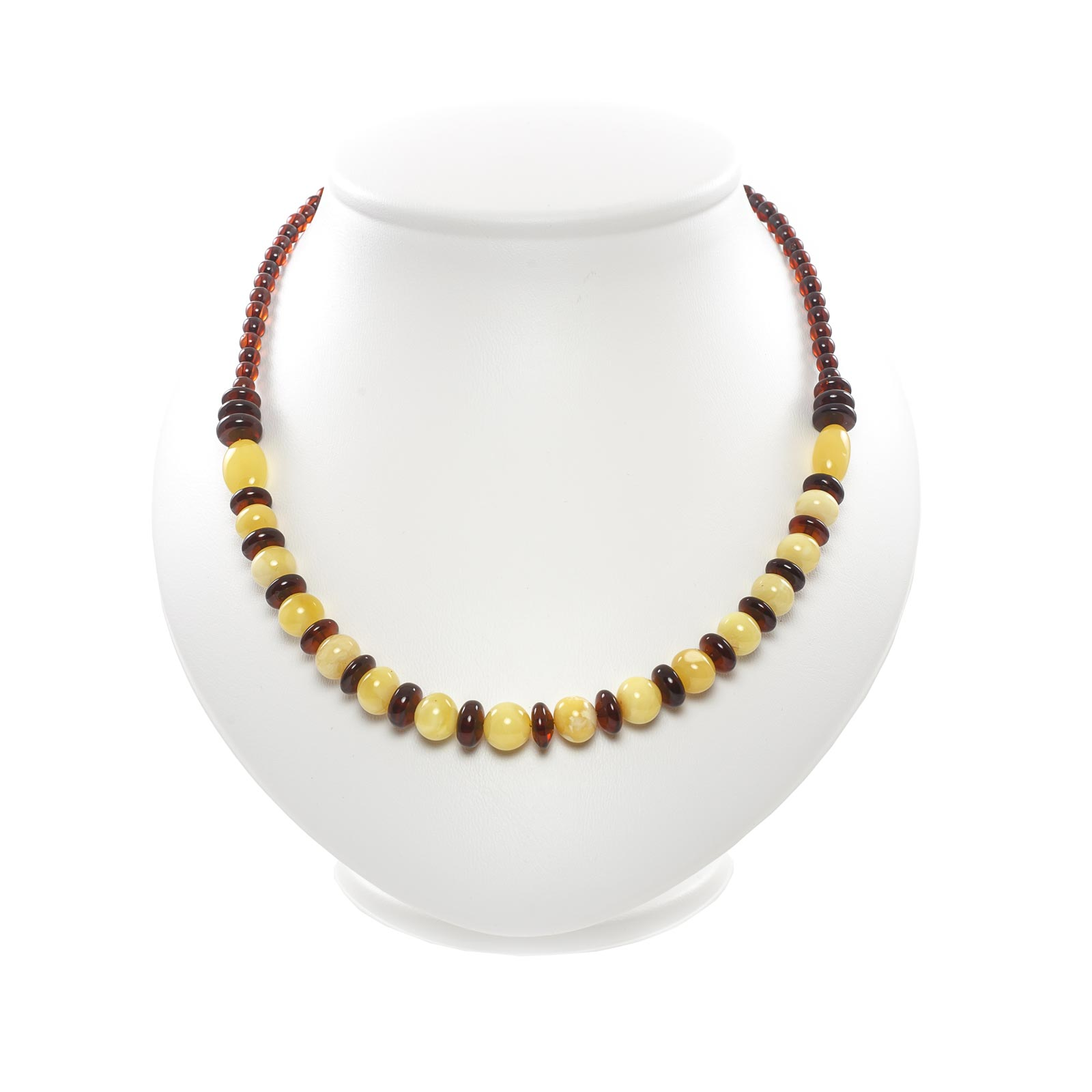 "Natural Baltic Amber Necklace ""Felissimo"""