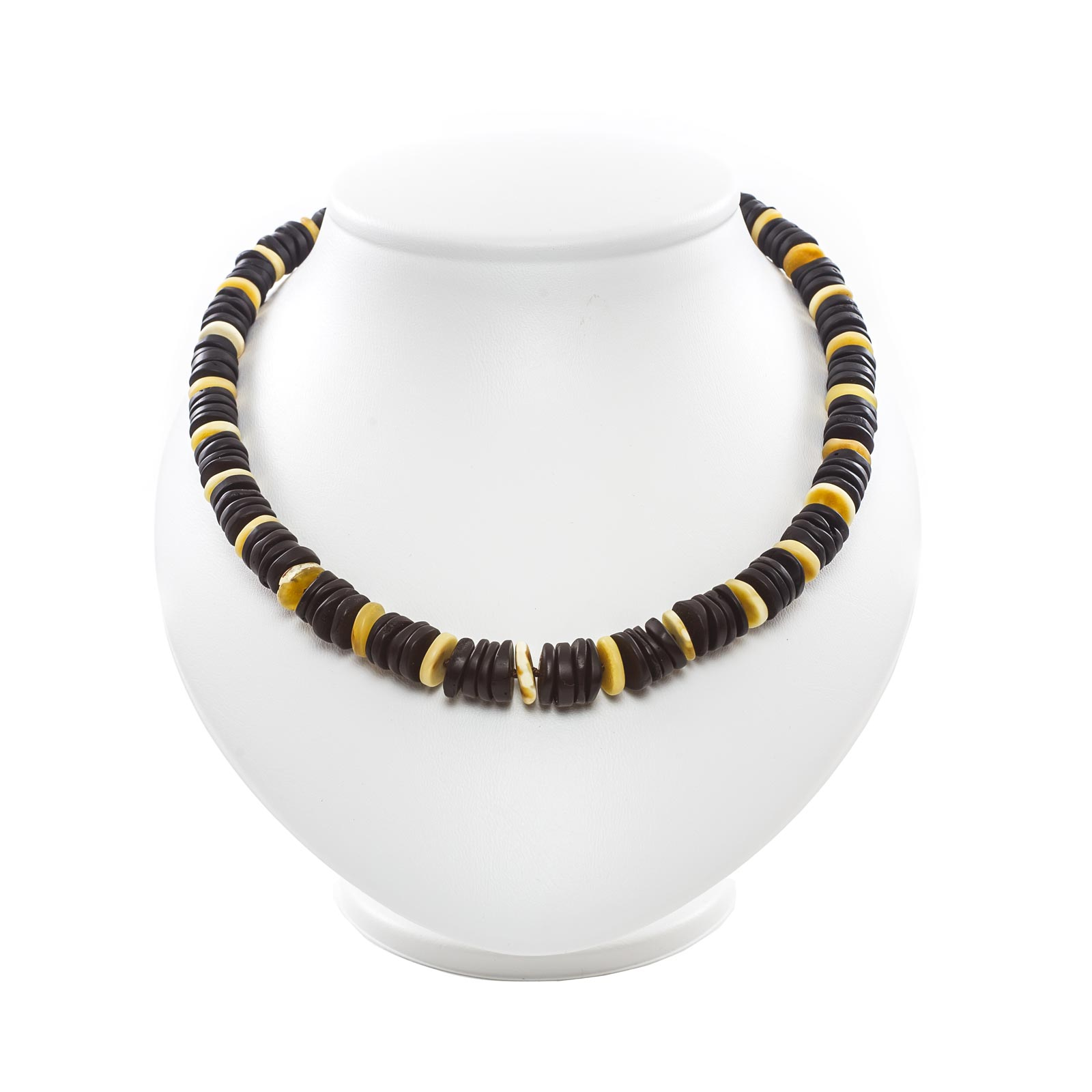 "Natural Baltic Amber Necklace ""Muss II"""