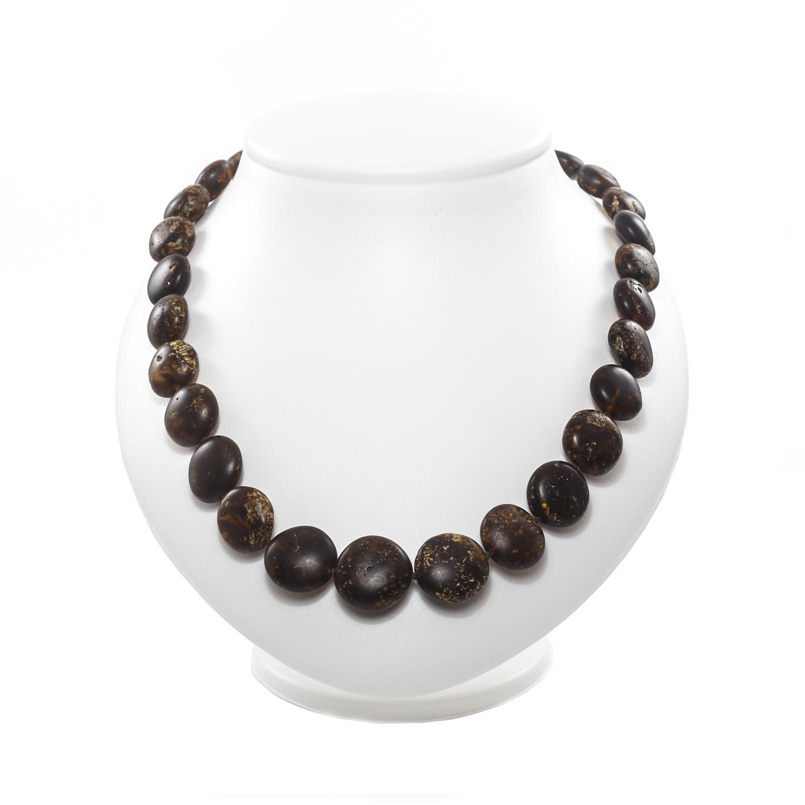 """Natural Baltic Amber Necklace """"Enigma"""""""