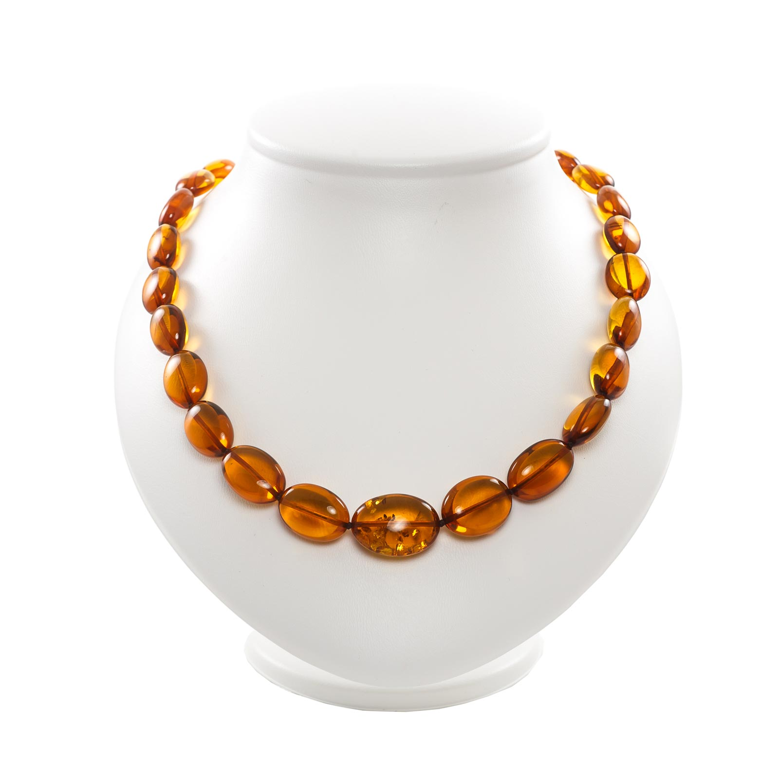 "Natural Baltic Amber Necklace ""Fortuna"""