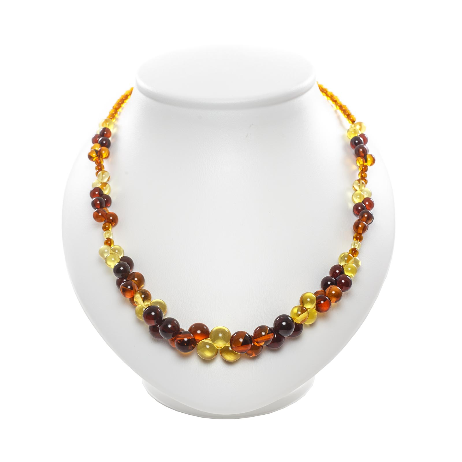 """Natural Baltic Amber Necklace """"Purity"""""""