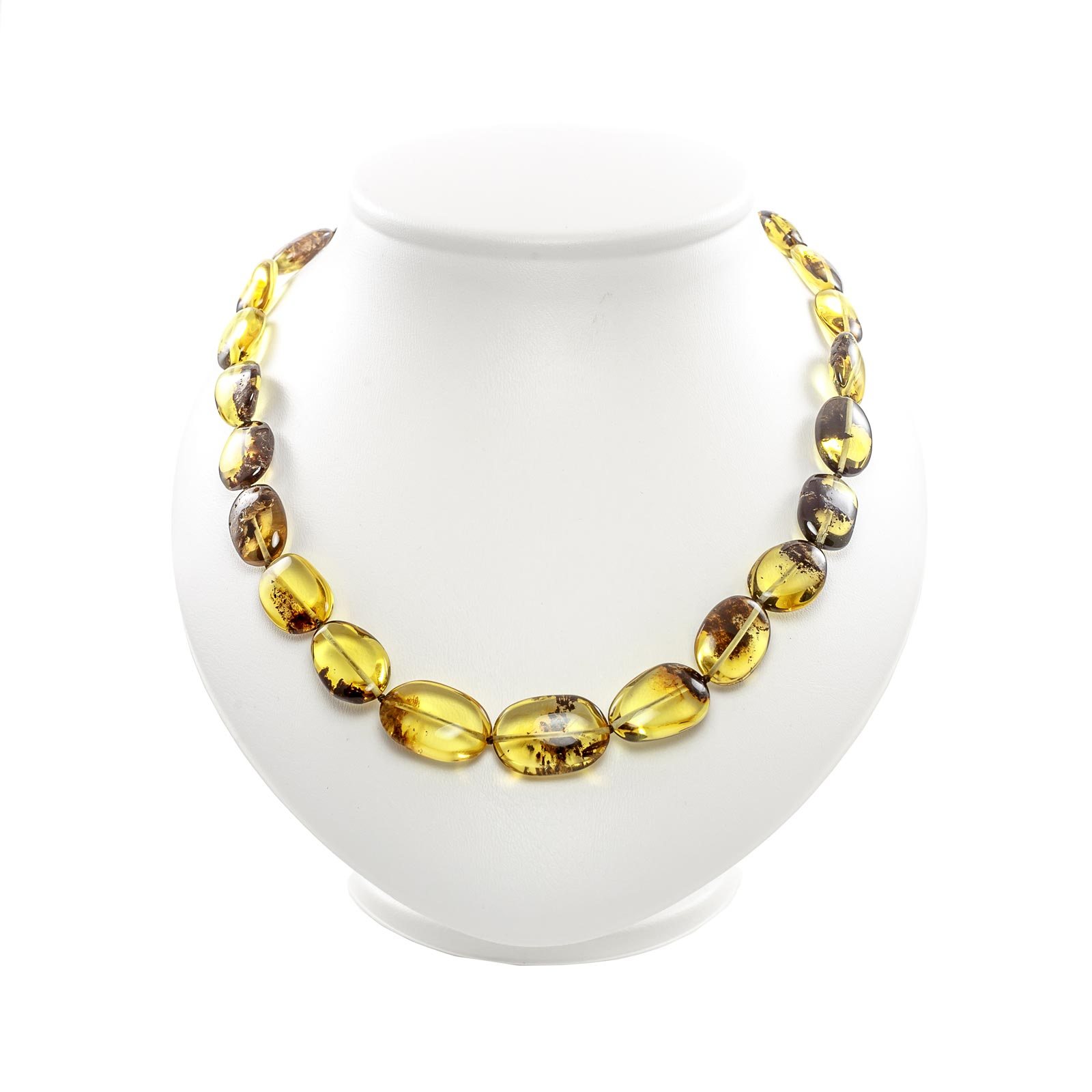"Natural Baltic Amber Necklace ""Eden"""