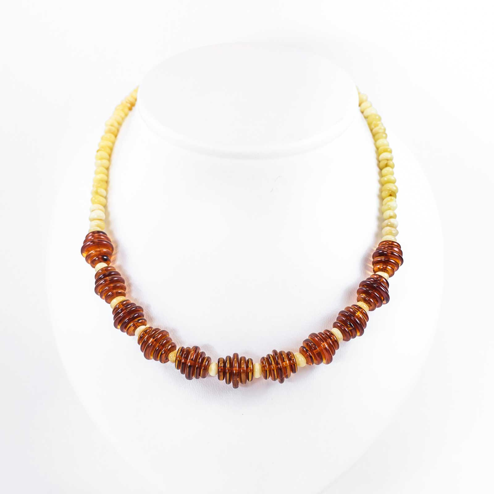 "Natural Baltic Amber Necklace ""Honey"""