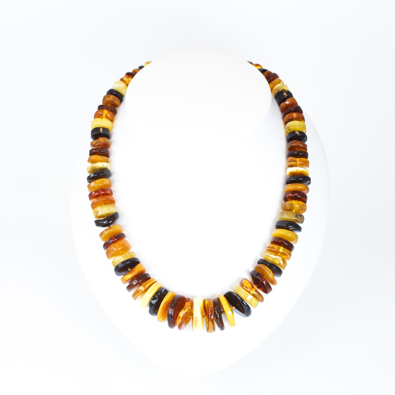 "Natural Baltic Amber Necklace ""Iris"""