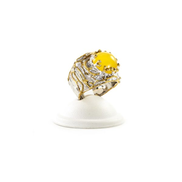 silver-ring-with-amber-stone-relic-1