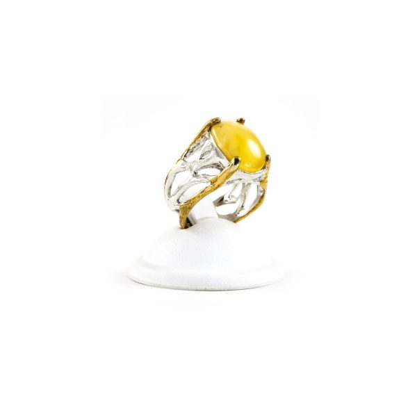 silver-ring-with-amber-stone-rose-2