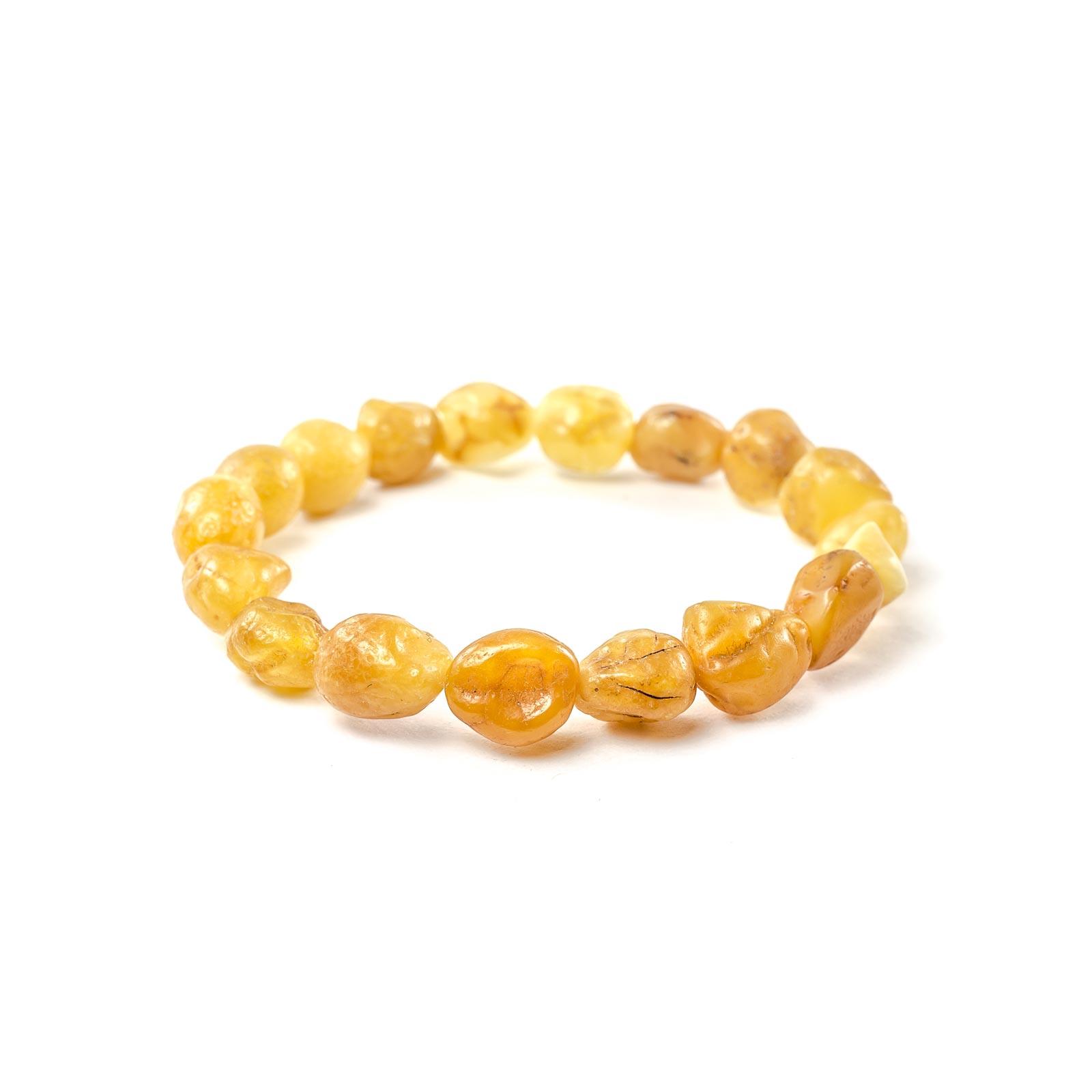 Natural Raw Baltic Amber Bracelet 'Tender'