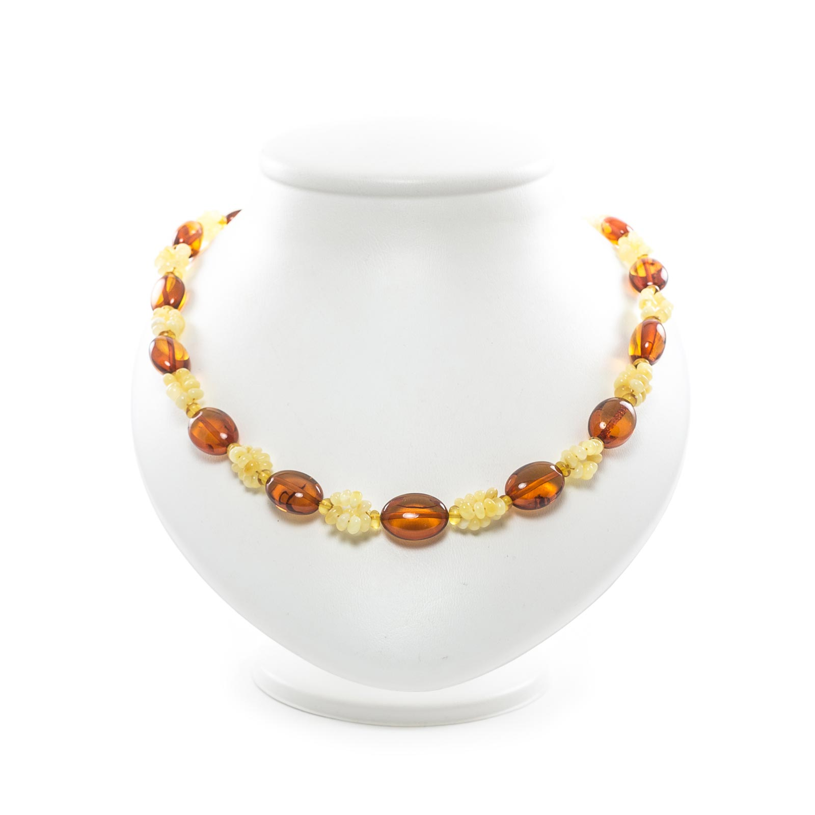 """Natural Healing Baltic Amber Necklace """"Meadow"""""""